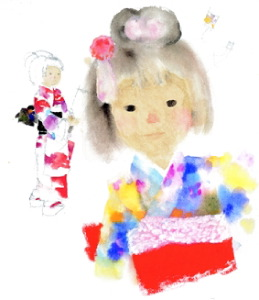 Kimono children