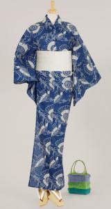Yukata blue
