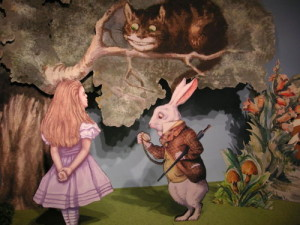 Alice in wonderland story