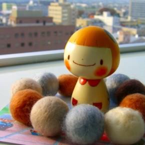 cute kokeshi