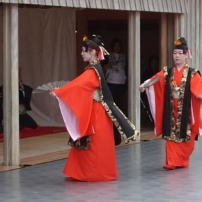 traditional festival at Okinawa
