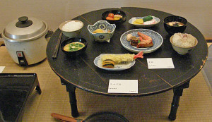 Japanese round table