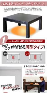 flat type kotatsu