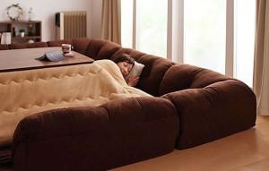 kotatsu corner sofa