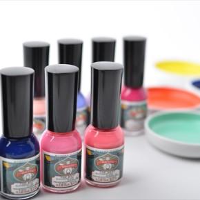 Japanese pigment nail polish