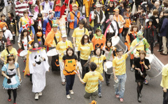 halloween parade Japan