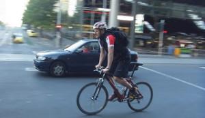 Australian bike rider