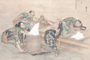 mochi pounding picture