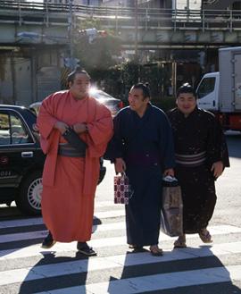 3 sumo men