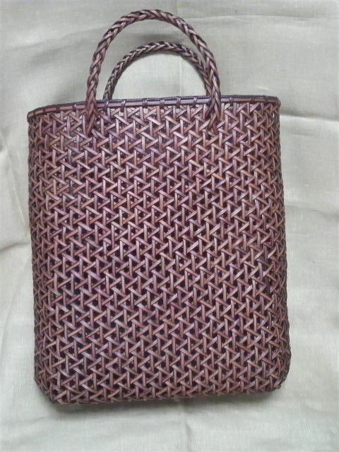 Rattan craft bag