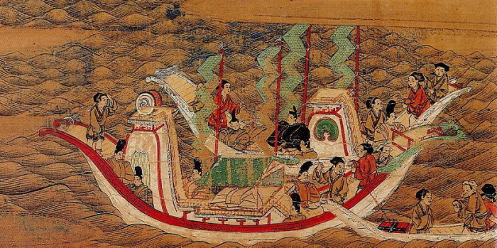 envoy to the Tang Dynasty