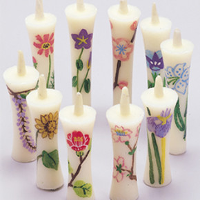 hand drawn candle
