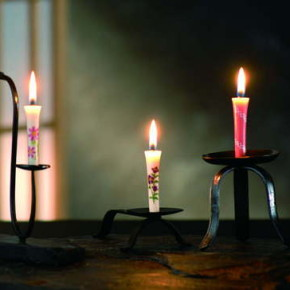 three candle