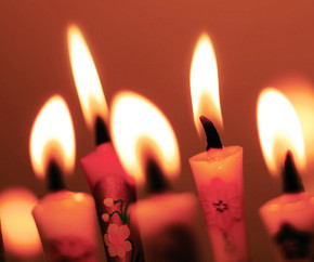 top_flaming candles