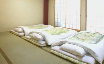 futon in ryokan