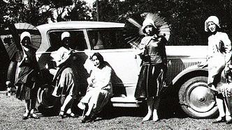 modern girls & car