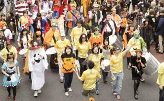 halloween parade Japan